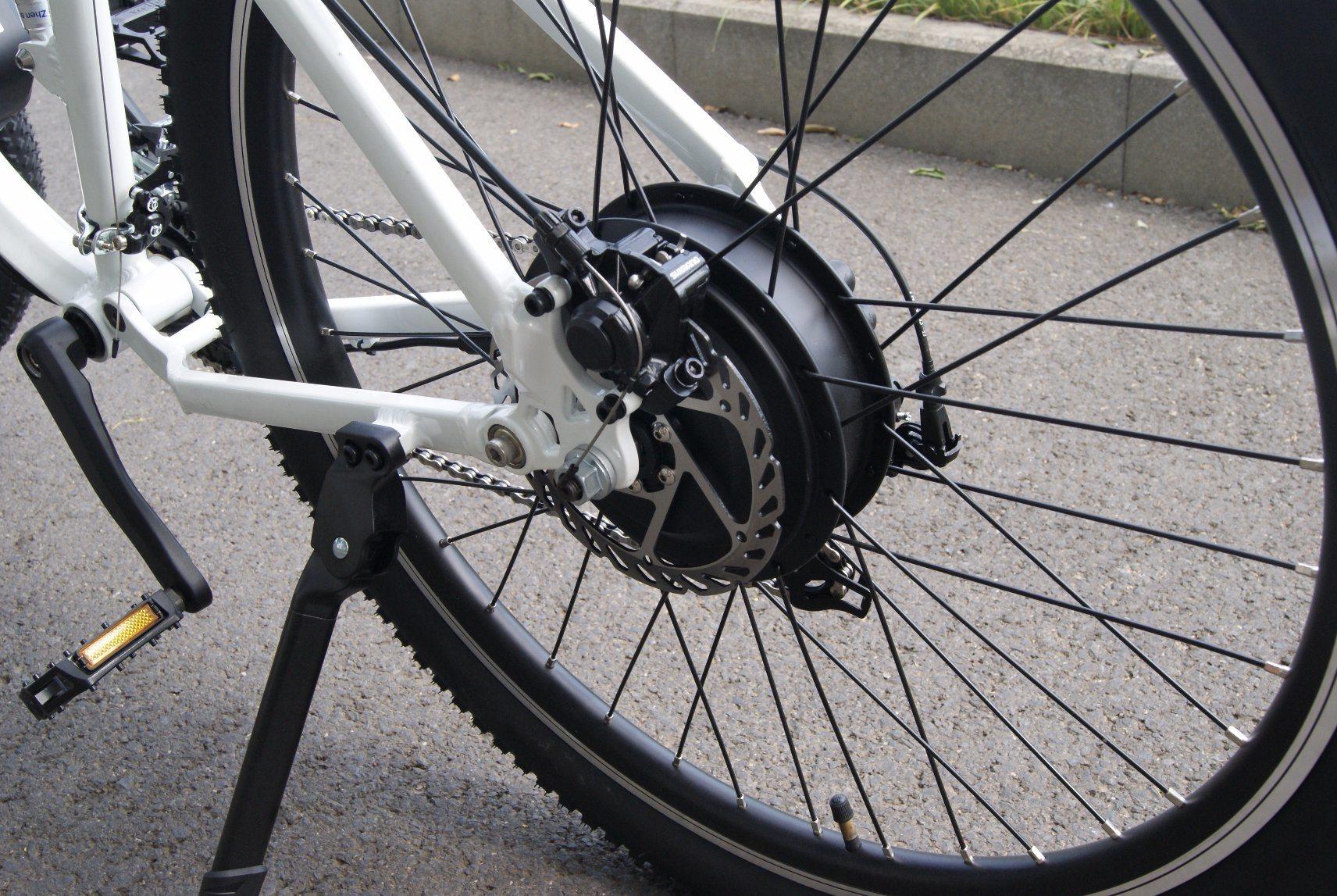 Alumium Frame Electric Bike with 36V 350W Hub Motor