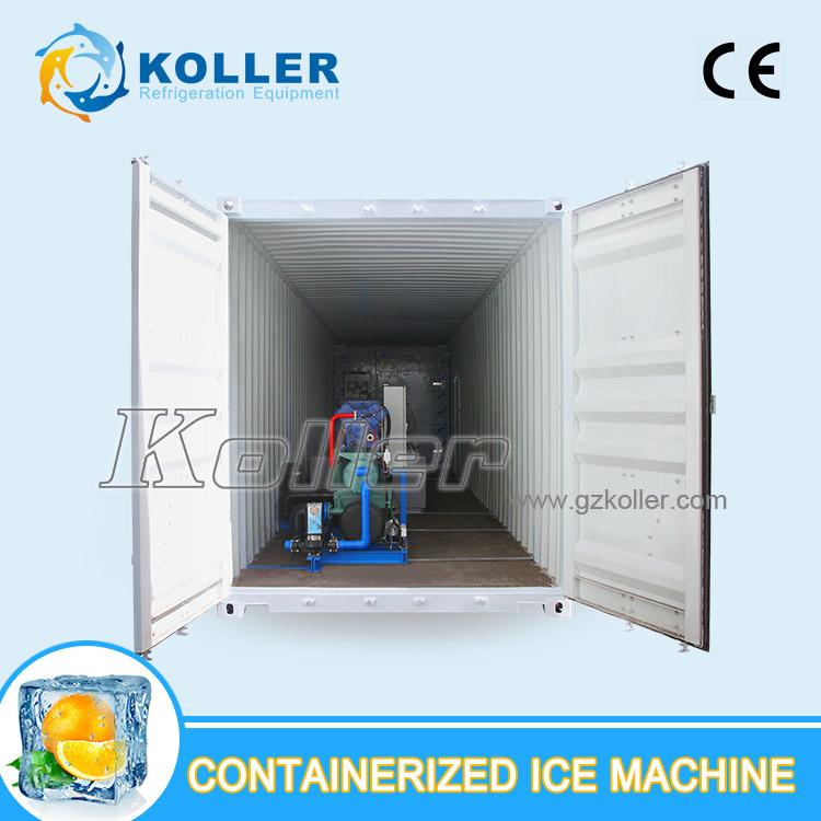 Containerized Block Ice Plant/Machine 5 Ton Per Day