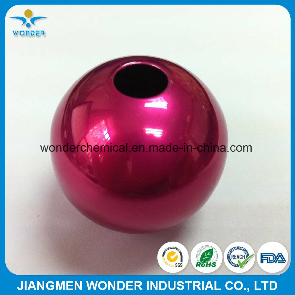 Metallic Pink Candy Color Chrome Mirror Effect Powder Coating