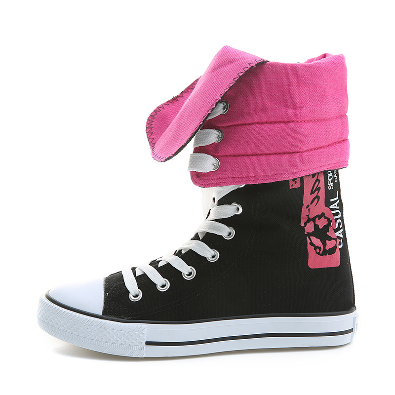 2017 New Style Canvas Fashion Girl Shoes