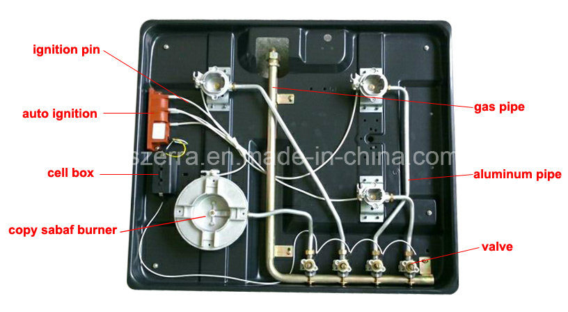 Cheap Price Built in Enamel Gas Hob Gas Cooker S4503A