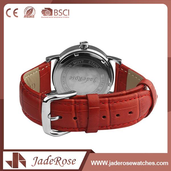 OEM Simple Bracelet Girls Leather Watch