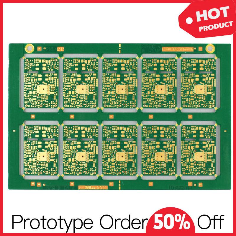 Quick Turn Fr4 Single Layer Prototype PCB Board
