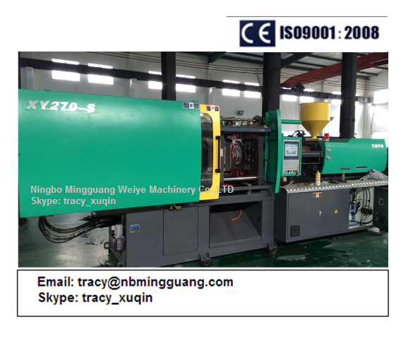 Servo High Speed Thin Wall Container Injection Molding Machine 270ton with Ce Certificated
