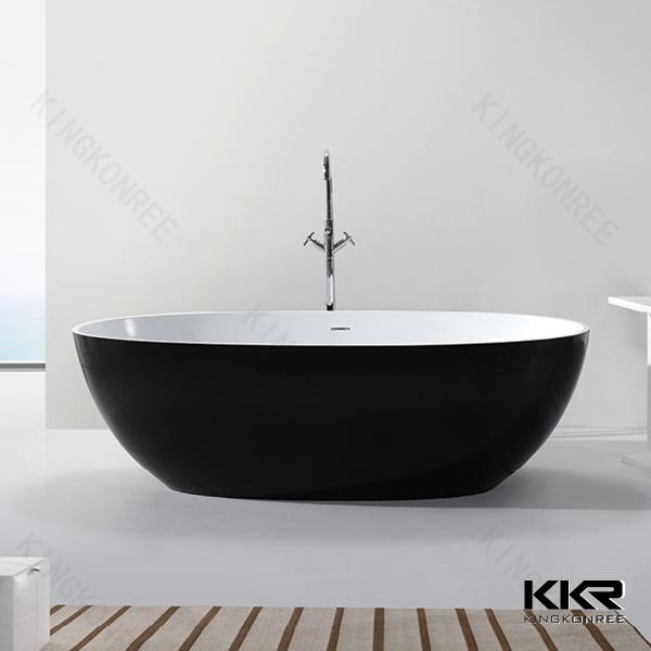 Gel Coat Solid Surface Acrylic Freestanding Bath Tub