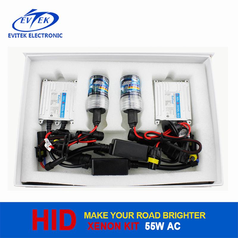 AC 12V 55W H4 Xenon Bulb HID Conversation Kit (slim ballast)