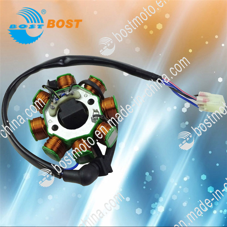 Motorcycle Parts Magnetic Coil Stator Comp for Bajaj 135