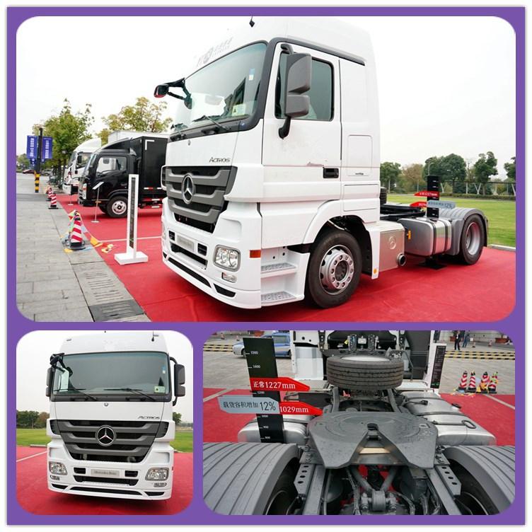 New Condition 4*2 Drive Wheel Beiz Tractor Head Trucks