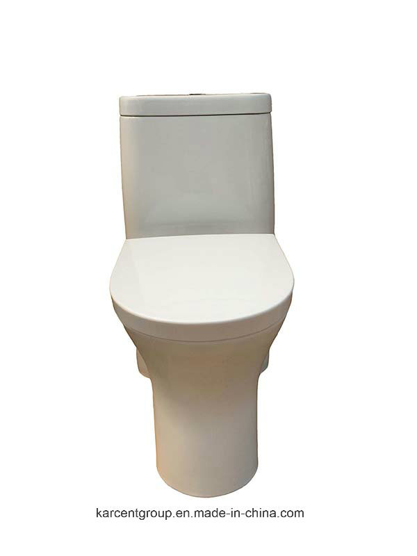 One Piece Toilet Siphonic Toilet Water Closet Wc 8861