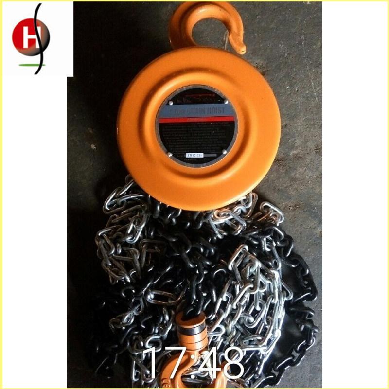 Top Quality Portable Hsz 2t 3m Chain Hoist