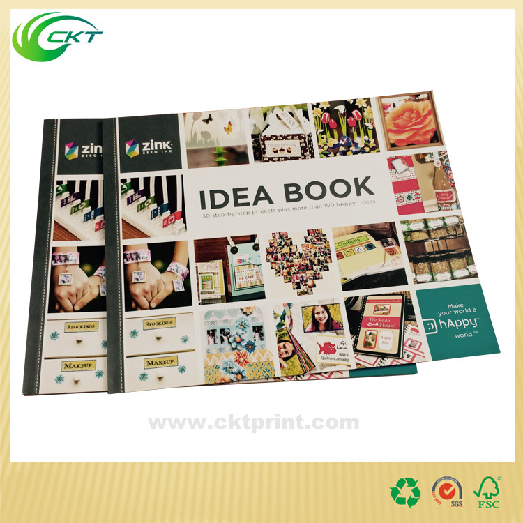Magazine and Catalog Printing with photos Printed (CKT-BK-417)