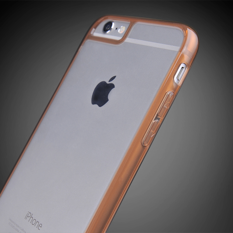 Full Protection Clear PC Back & TPU Bumper Case for iPhone 6