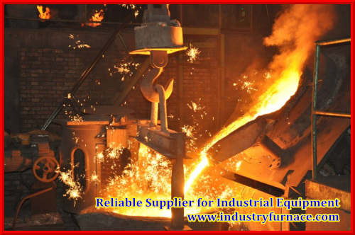 10 Tons Capacity Industry Furnace for Casting Aluminum Alloy