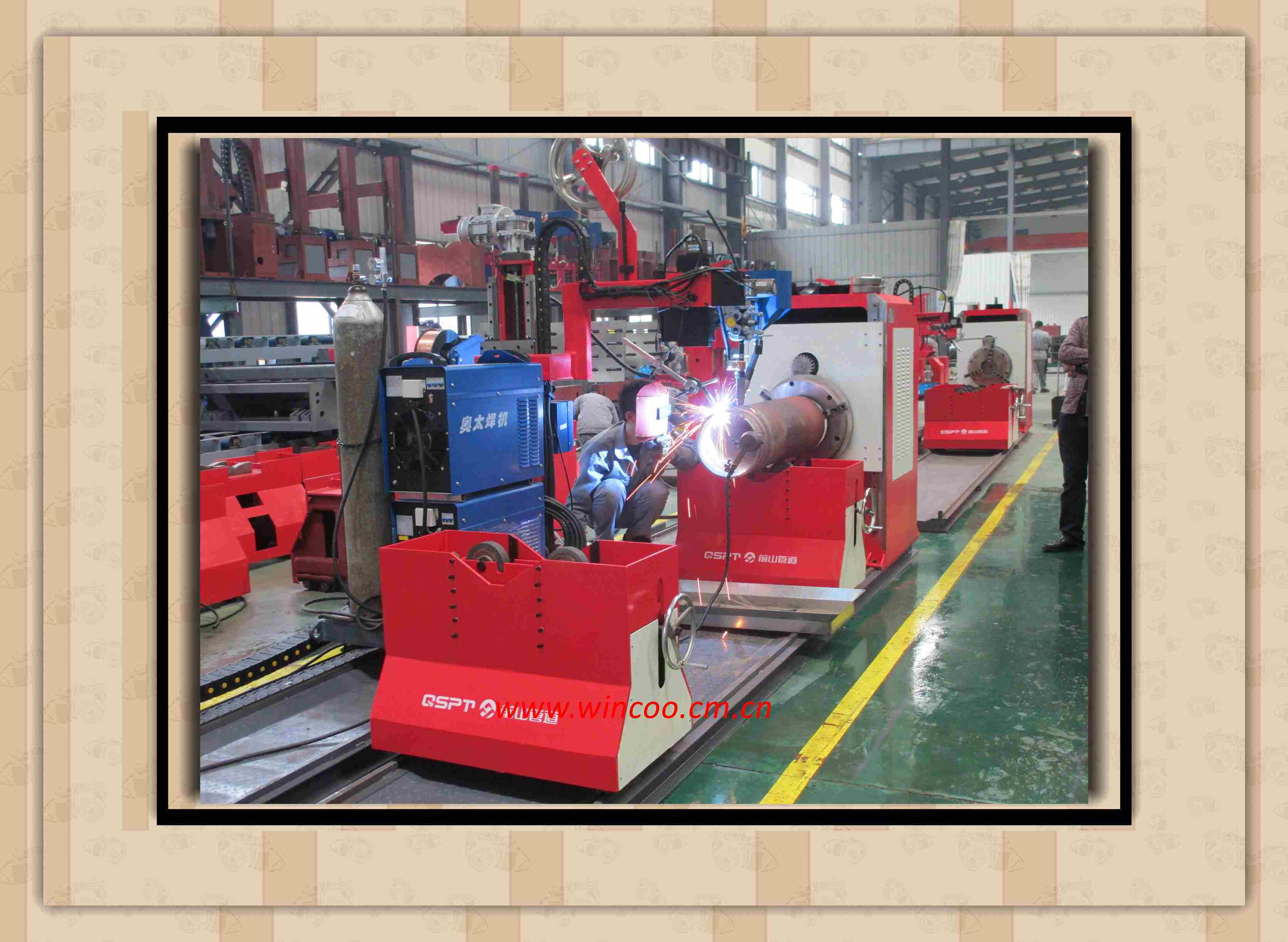 High Efficienccy Pipe Spool Welding Machine
