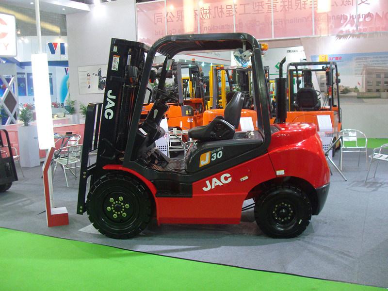 New Model JAC J Series Diesel Forklift Truck 3 Ton