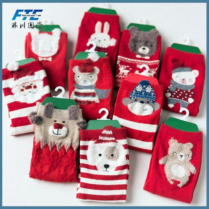 Cotton/Polyester Christmas Stocking Christmas Gift