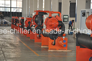 71kw~1242kw Industrial Water Cooled Screw Water Chiller Unit for Pharmaceutical Plant