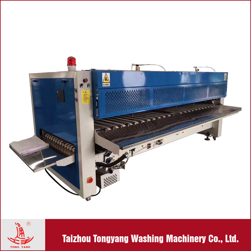 China Fabric Folding Machine, Automatic Bed Sheet Folding Machine For  Laundry Shop   China Flatwork Ironer, Commercial Ironing Machine