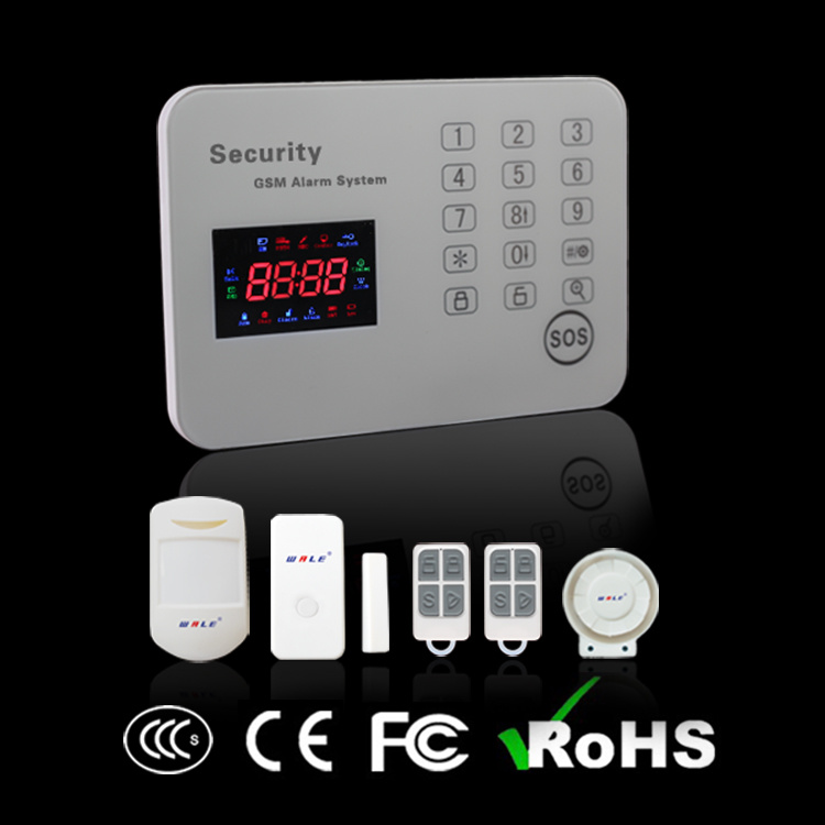 Wireless Home Touch Keypad GSM Burglar Alarm Pane (WL-JT-120CG)