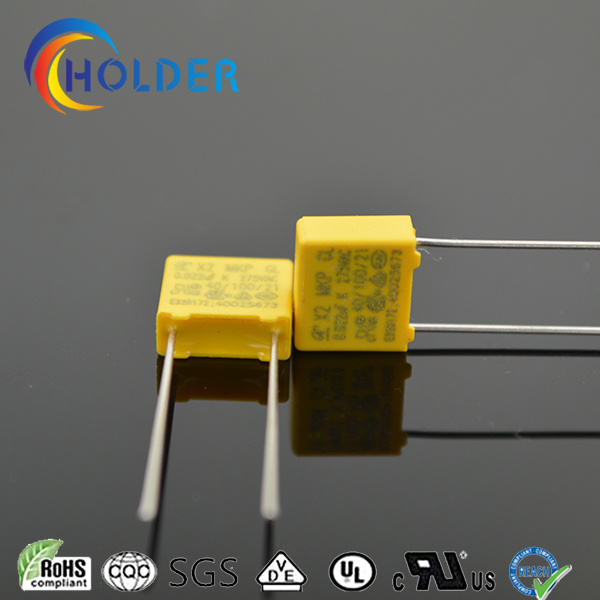 Miniature Box Safety Polypropylene Capacitor X2 0.022UF 275V P=7.5