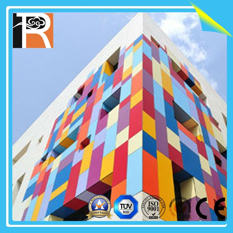Colourful Waterproof and Fireproof UV Resistant Exterior Wall Panel (EL-17)