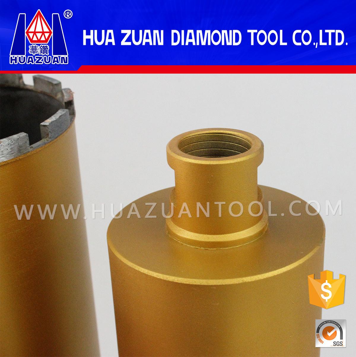 Length 450mm*1-1/4 Unit Diamond Crown for Reinforcement