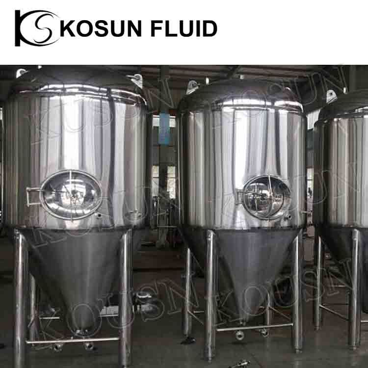 Stainless Steel 7bbl Cooling Jacket Conical Beer Fermentor