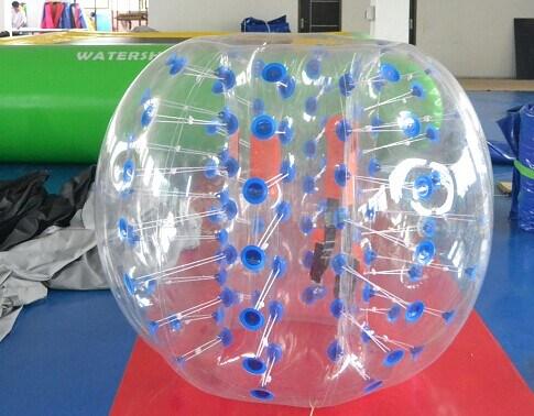 PVC TPU Pop Human Amusement Park Inflatable Football Bumper Bubble Ball