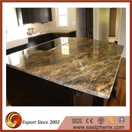 Terrific Vintage Beige Granite Kitchen Countertops