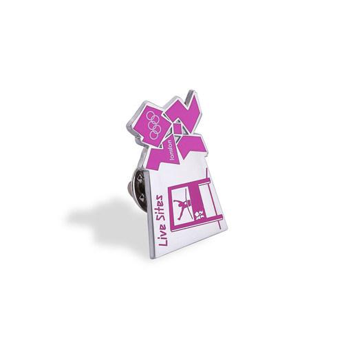 Stamp Logo Soft Enamel Lapel Pin, Custom Badge (GZHY-FFL-012)