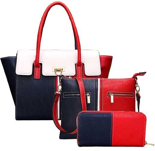 Tommy Series 3PCS Set Handbag Fashionable Leather Designer Hand Bag (XM0273)