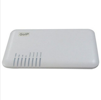 Gateway GoIP-4I 4 Channel VoIP GSM with Internal Antenna, GSM VoIP Gateway GSM Converter SIP IP Phone Adapter