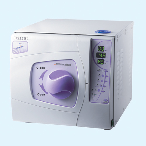 Functional Dental Autoclave with Printer