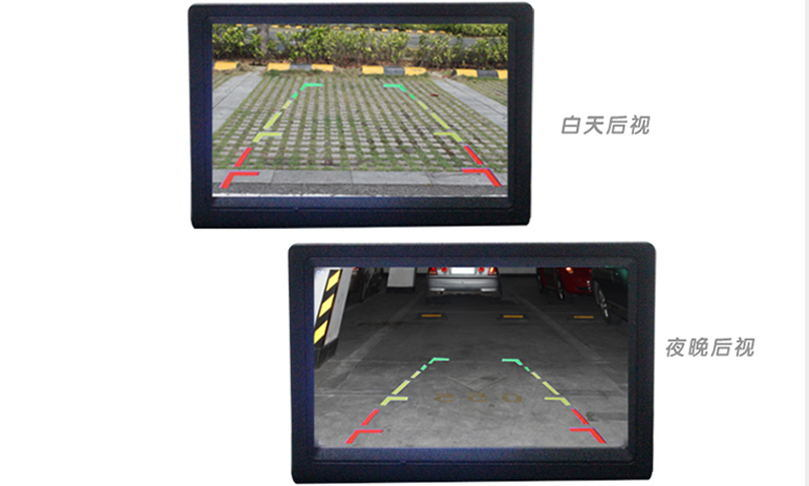 Mini Car Reversing Camera with Day/Night Vision 480 TV Lines CMOS
