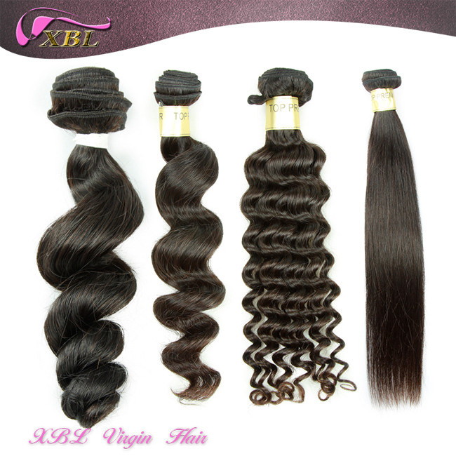 Natural Raw Human Hair Wavy 100% Peruvian Virgin Hair Extension