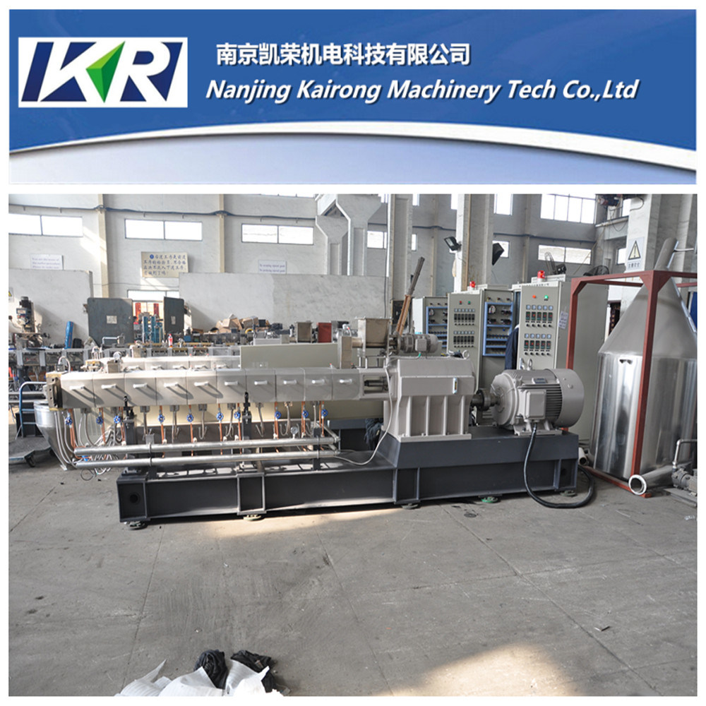 200kg/H Carbon Black Plastic Compounding Color Filler Masterbatch Production Line