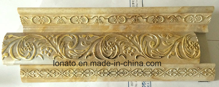 Polyurethane PS Cornice Mouldings with High Quality and Fashion Design