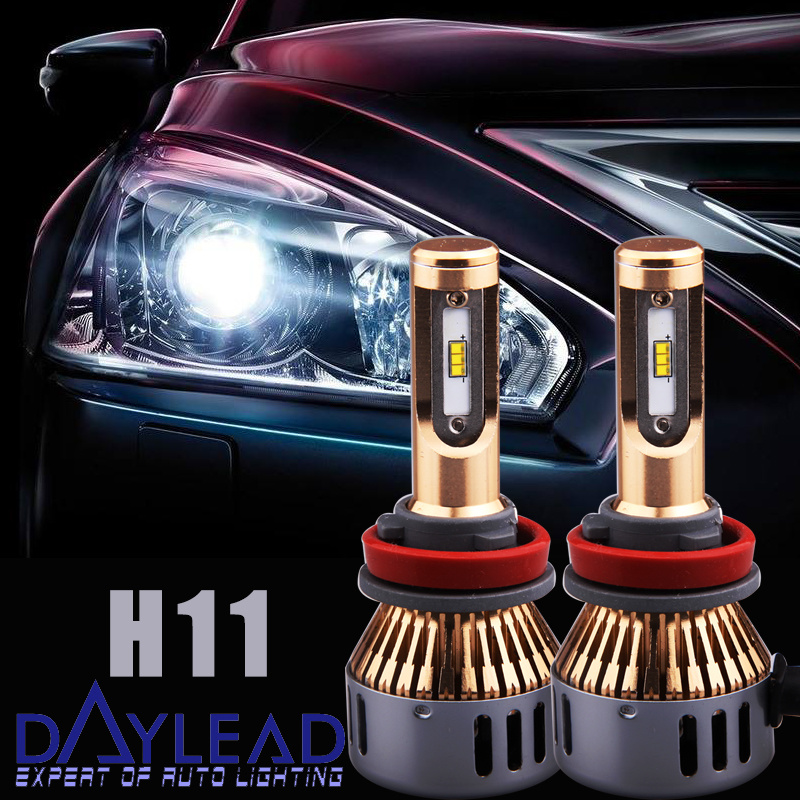 H11 LED Headlight Bulb/H8 H9 Lumileds Chip Low Beam Fog Light