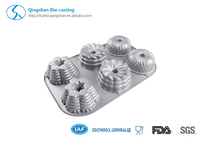 Aluminum Die Casting Non-Stick Cake Mold