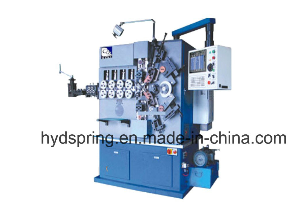 Spring Compression Machine with Five Axis & CNC Machine