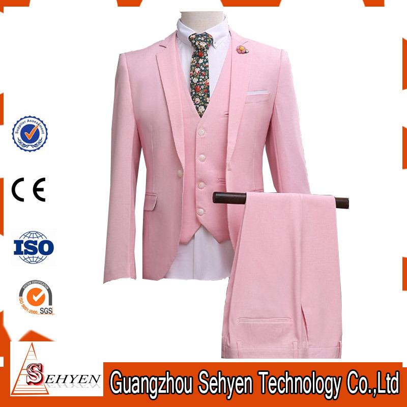 Fashion Mens Business Suit Blazer with Notch Lapel Custom