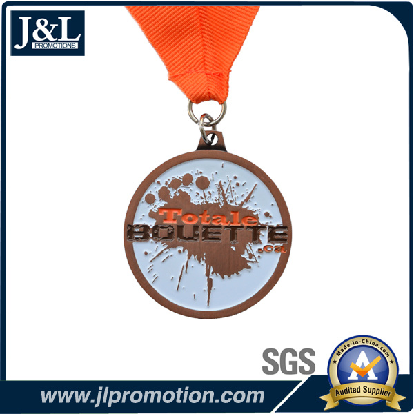 Customer Design Promotion Medal with Ribbon