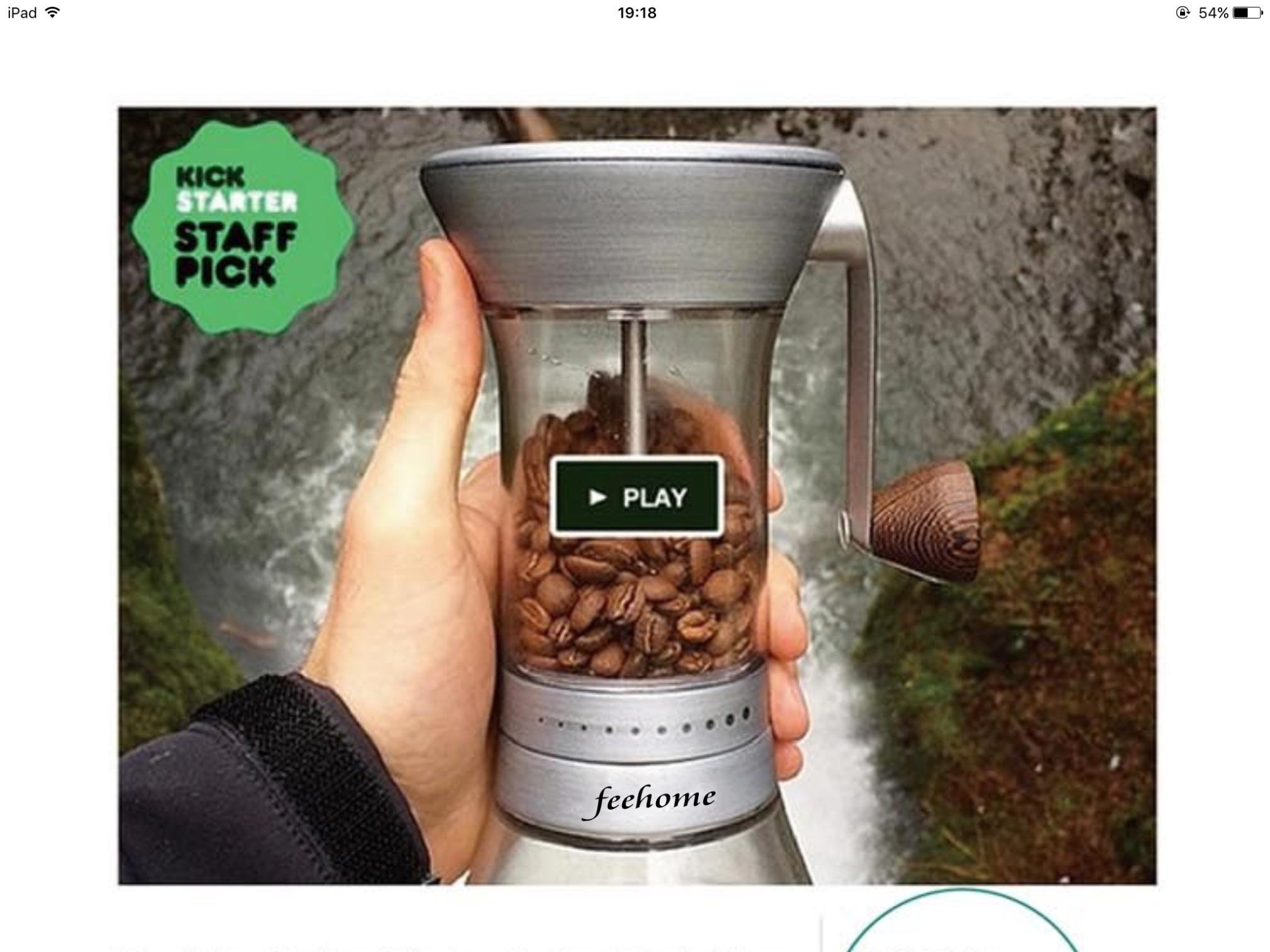 Unique Design Coffee Bean Mill Coffee Grinder