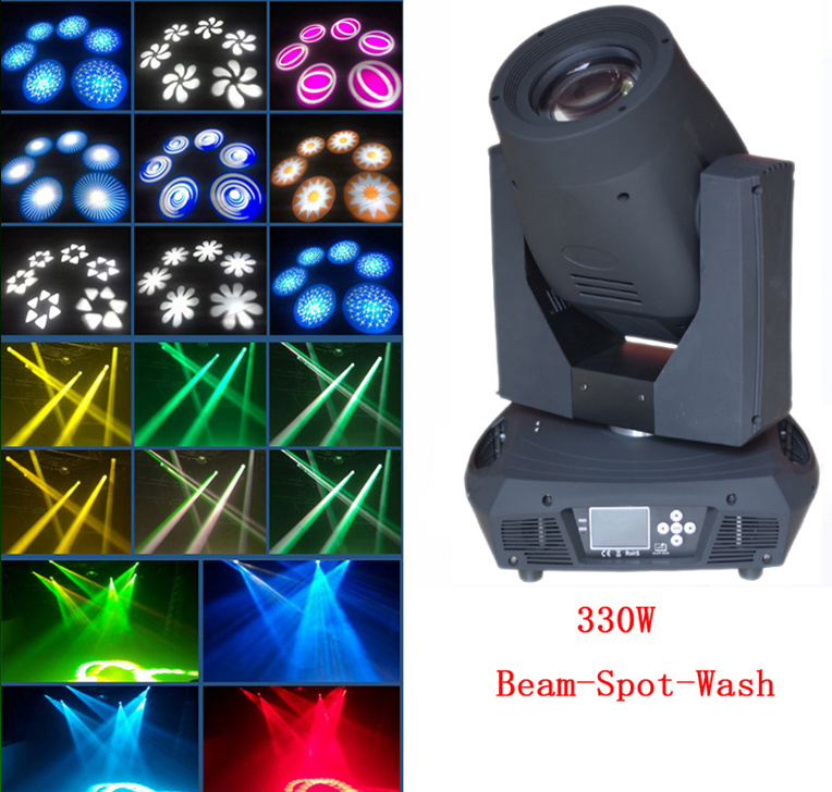 Factory Price 17r 350W Beam Spot Wash Moving Head Light