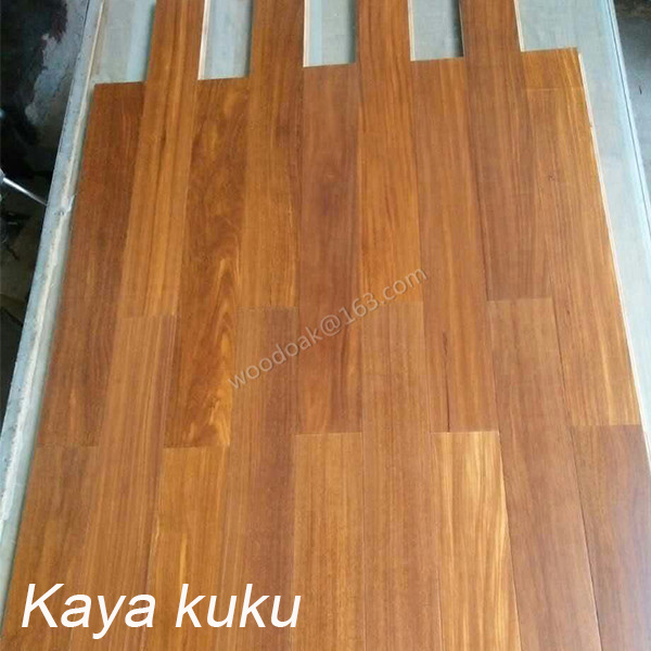 Multiply Engineered Kaya Kuku Wood Flooring with Natural /Stain Color