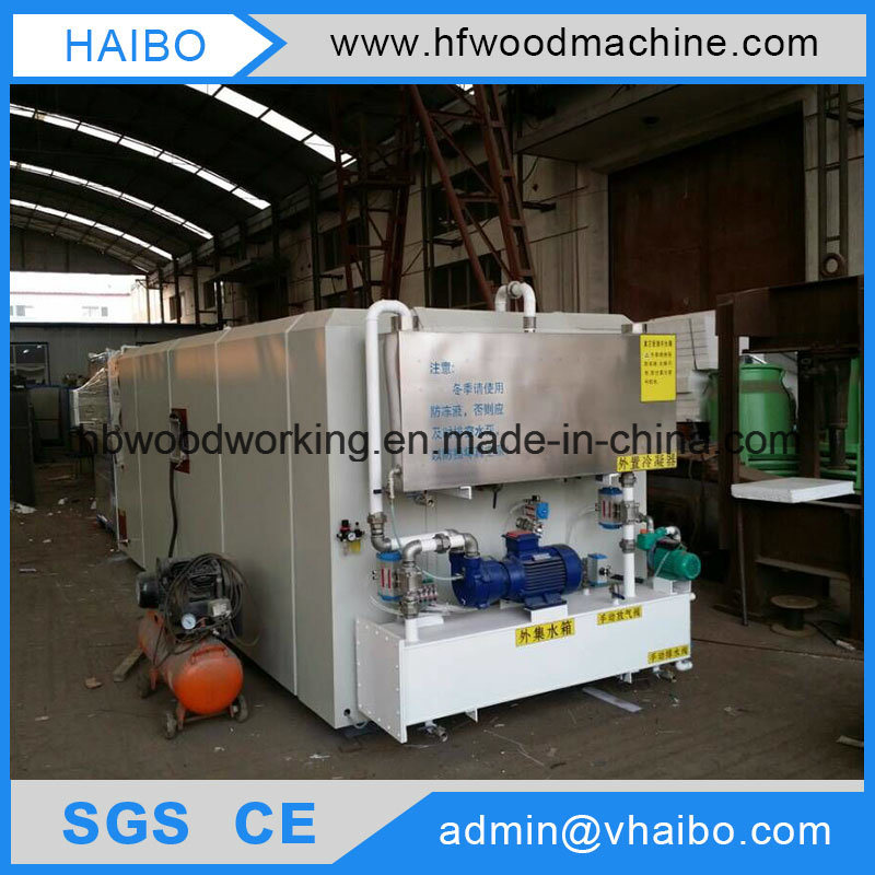 High Frequency Vacuum Timber Machinery with Ce/ISO