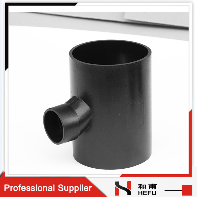Custom Reducer Equal HDPE Types Drain Siphonic Fitting Y-Shap 90 Degree Pipe Tee