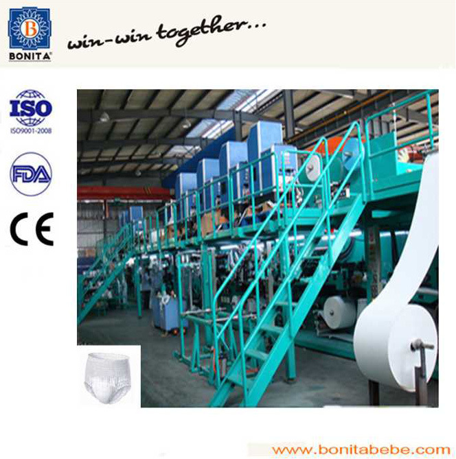 Full Servo Adult Diaper Making Machine