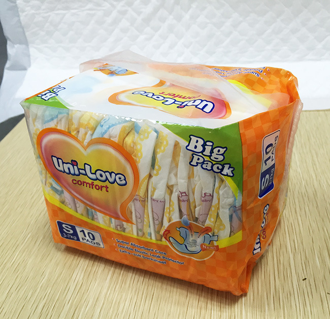 Disposable OEM Breathable Cloth-Like Back Sheet Incontinence Dry Surface Baby Diaper