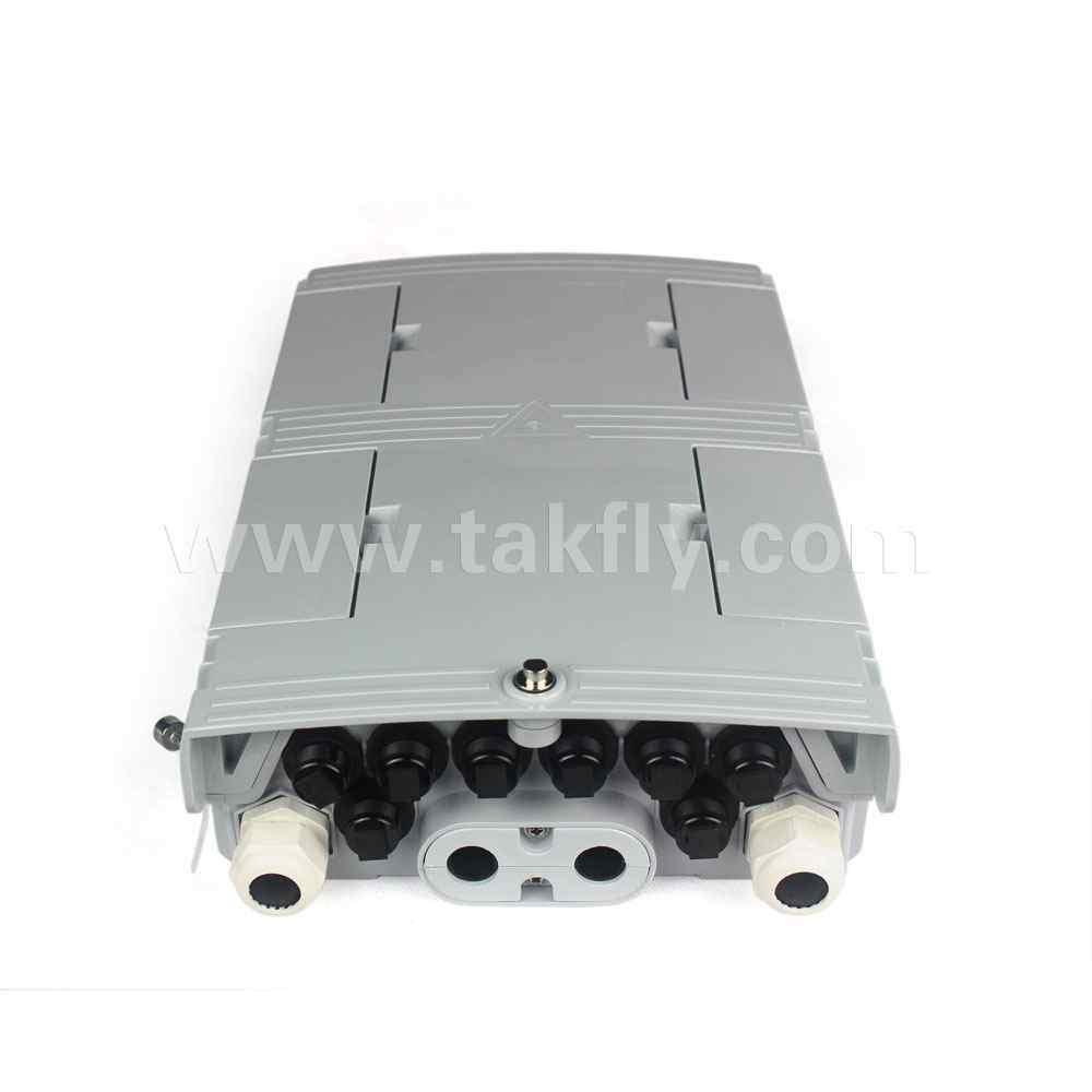 FTTH Waterproof IP68 8 Cores Drop Cable Fiber Optic Splitter Box